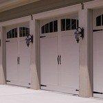 CHI Steel Carriage Garage Door