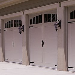 CHI Steel Carriage Garage Door