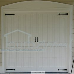 Custom Carriage Style Garage Door