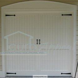 Custom Carriage Style Garage Door