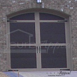 carriage door garage door