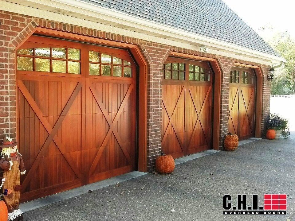 Mahogany Overlay Carriage Door Carriage Garage Doors For