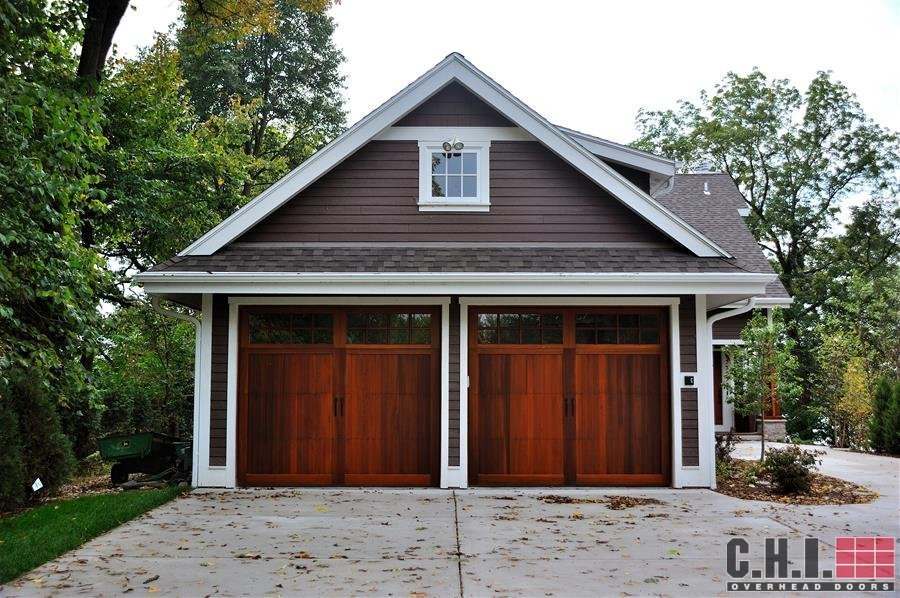 Wood look garage doors carriage garage doors for atlanta ga for Wood looking garage doors