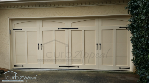 Carriage Style Garage Door Install in Atlanta