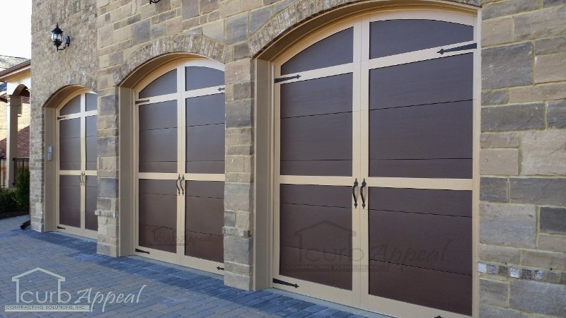 Steel Garage Door Custom Overlay Carriage Garage Doors